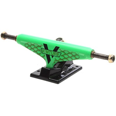5.25 Low Wildstyle Venom Green/Black Skateboard Trucks