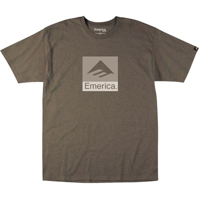 Combo 10 S/S T-Shirt - Brown Heather