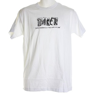 Bad Name S/S T-Shirt - White