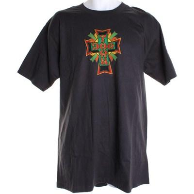 Rasta Cross S/S T-Shirt - Grey