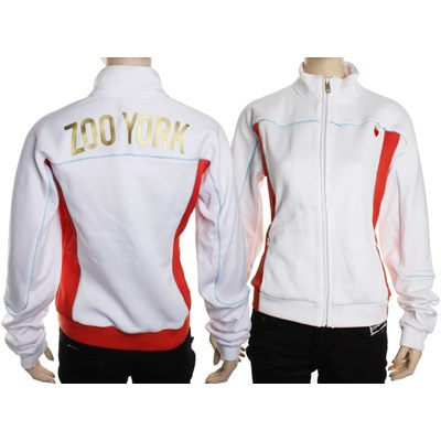 Chelsea Piers Track Jacket - White