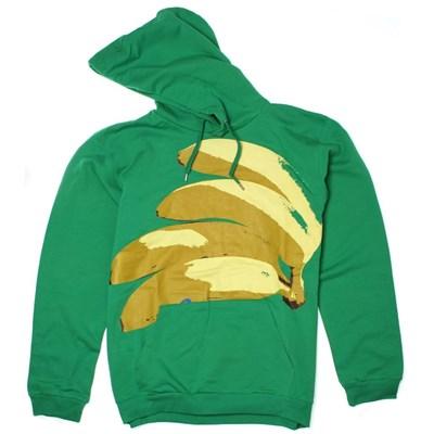 Bananas Hoody - Green Pea