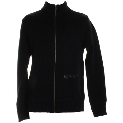 Boulder Full-Zip Sweater - Black