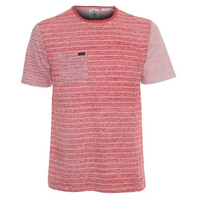 Peruzzy Crew S/S T-Shirt - Chili Red