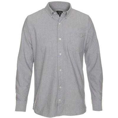 Weirdoh Oxford Stripe L/S Shirt - Sparrow Blue