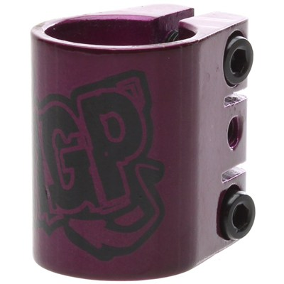 MGP Triple Collar Scooter Clamp - Purple