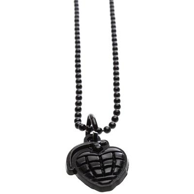 Grenade Necklace - Black