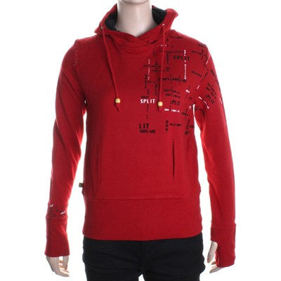 Top Level Girls Pullover Hoody - Bright Red