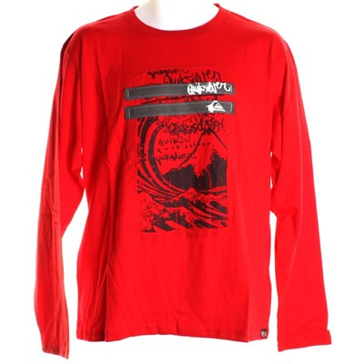 Real Looker L/S T-Shirt - Red