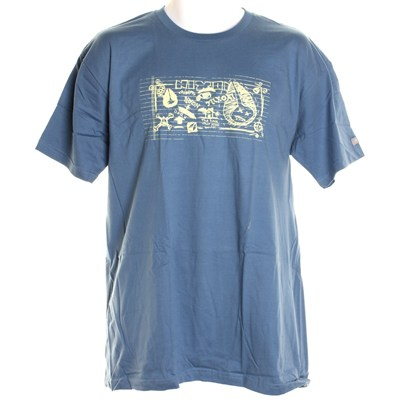Sketch S/S T-Shirt - Dusk Blue