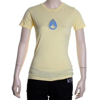 Gene Capped Girls S/S Tee - Sun Yellow