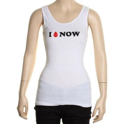 Inixon Girls Racer Back Tank - White