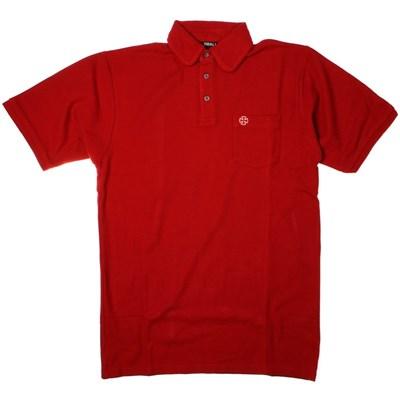 La Costa S/S Polo Shirt - Dark Red
