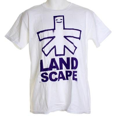 Outline Logo S/S T-Shirt - White/Purple
