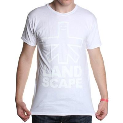 Outline Logo S/S T-Shirt - White/White
