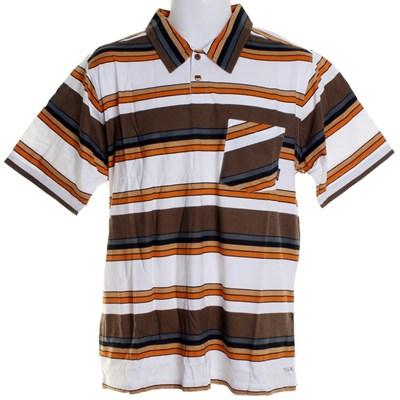 Settle Down S/S Polo Shirt - Wood