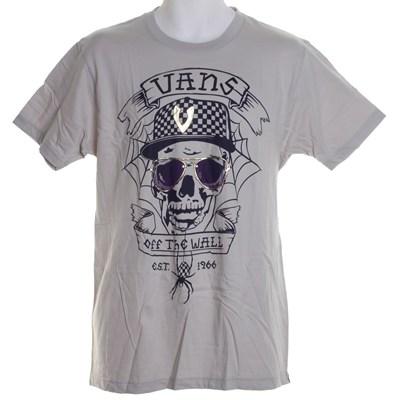 Webskully S/S T-Shirt - Pebble Grey
