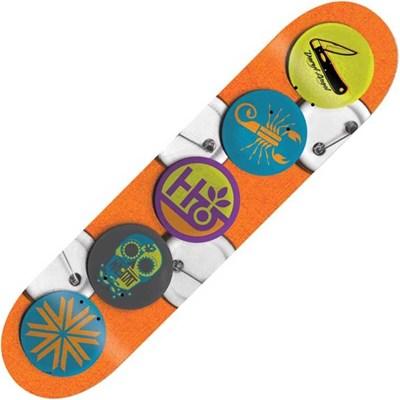 Daryl Angel Buttons 8.125inch Skateboard Deck