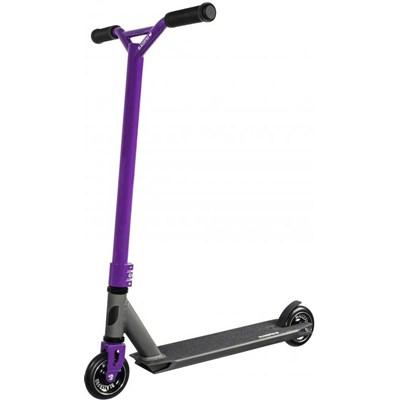 Evolution Anodised Grey/Purple Pro Complete Stunt Scooter