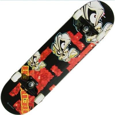 A Series Skulls III Complete Skateboard