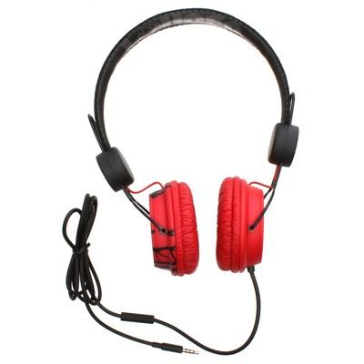 Decibel Headphones - Red/Black