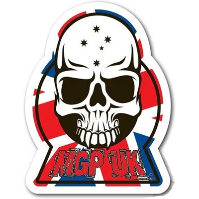 MGP UK Skull Sticker