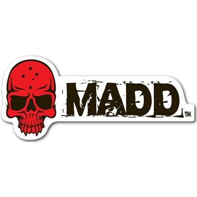 MGP Red Skull Madd Sticker