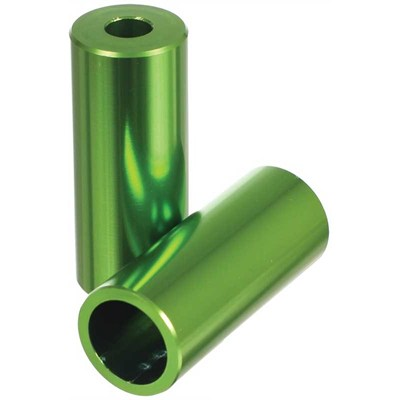 Green Alloy Scooter Stunt Pegs