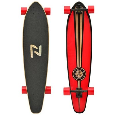Longboard Roundtail Complete - Red