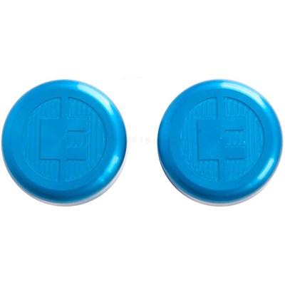 81 Customs Bar End/Overcaps - Blue