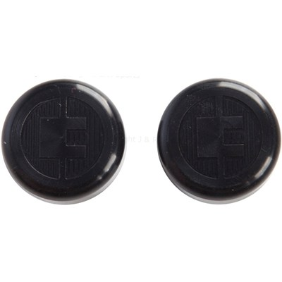 81 Customs Bar End/Overcaps - Black