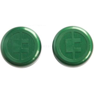 81 Customs Bar End/Overcaps - Green