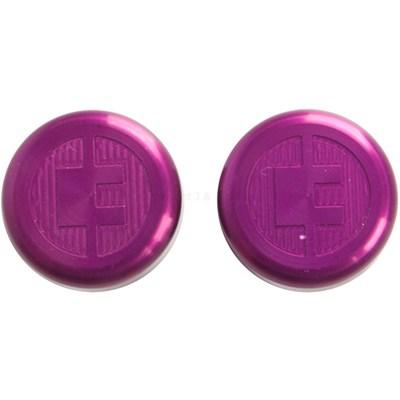 81 Customs Bar End/Overcaps - Lilac