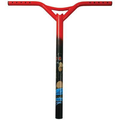 MGP Lethal Bat Wings Scooter Handlebars - Red