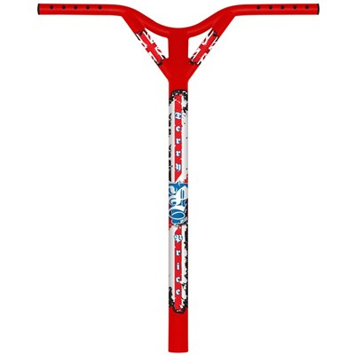 Image of MGP Terry Price Signature Scooter Handlebars (Standard Size - 31.8mm) - Red