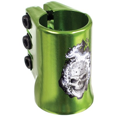 HotHead Oversized Triple Collar Scooter Clamp - Green