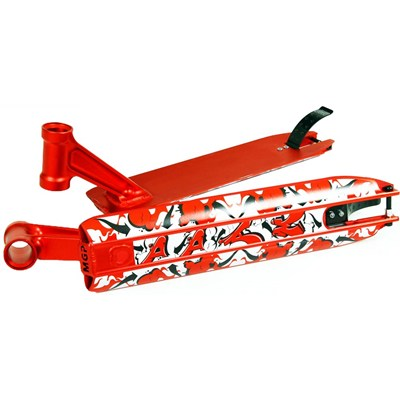 DDAM 4.5inches Street Scooter Deck - Red