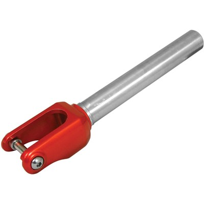 Madd Alloy Threadless Scooter Fork - Red