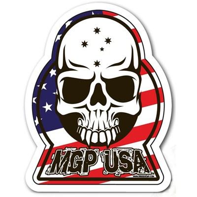 MGP USA Skull Sticker