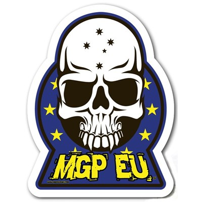 MGP EU Skull Sticker