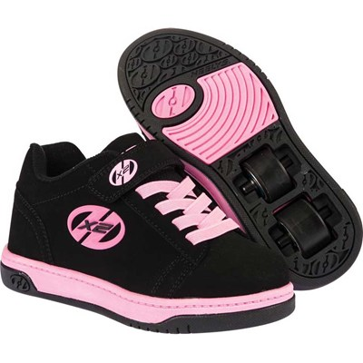 Dual Up Black/Pink Kids Heely X2 Shoe