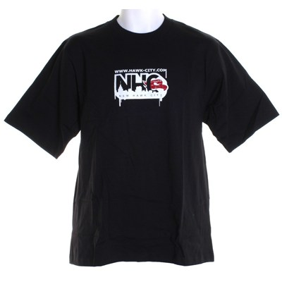 Hawk City S/S T-Shirt - Black