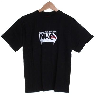 Hawk City Kids Fitted S/S T-Shirt - Black