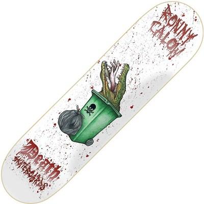 Ronny Calow Croc Skateboard Deck 8.00inch