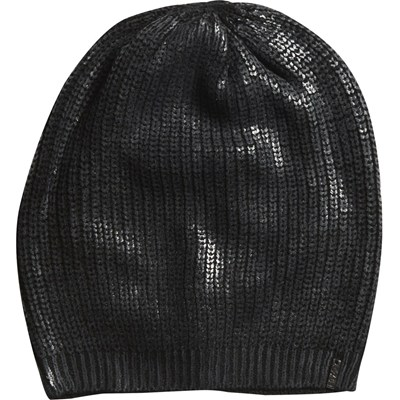 Step Off Slouch Beanie - Black