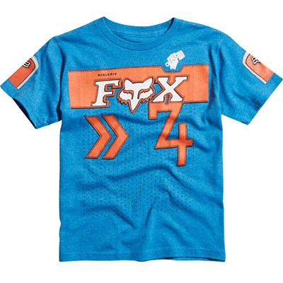 Crowd Pleaser Kids S/S T-Shirt - Heather Blue