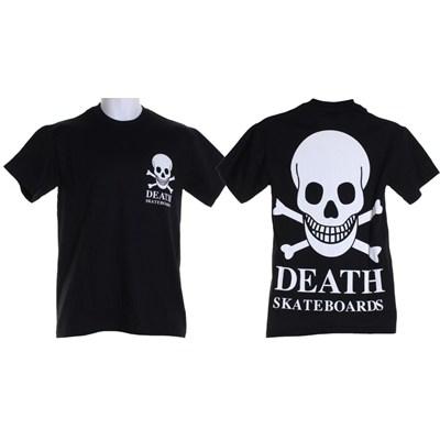 OG Skull Back Print S/S T-Shirt - Black