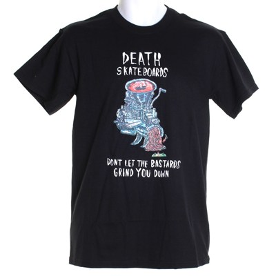 Grinder S/S T-Shirt - Black
