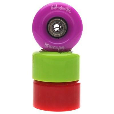 58mm Quad Roller Skate Wheels & bearings