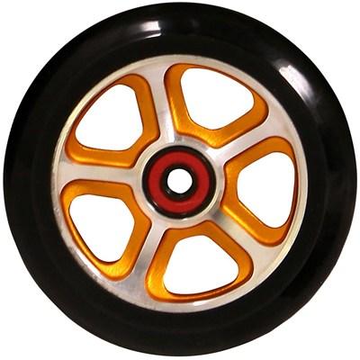 CF Filth 110mm Scooter Wheel Including Bearings - Orange/Black
